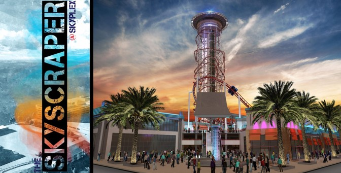 Skyscraper To Become World's Tallest Roller Coaster