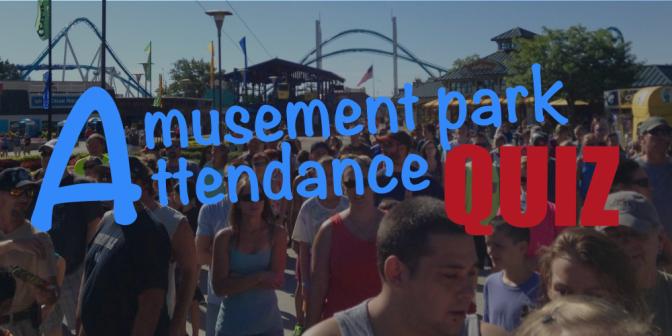 Amusement Park Attendance Quiz