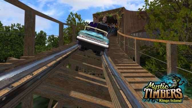 Kings Island Announces Mystic Timbers for 2017