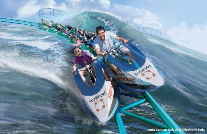 Wave Breaker Coming to SeaWorld San Antonio in 2017